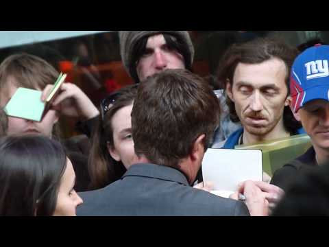 Jonathan Liebesman Director Signing Wrath Of The Titans Premiere At BFI IMAX London 29 March 2012 HD