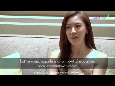 Ha Ji Won 하지원 Interviewed xinmsn (Media Conference) @ Singapore Full Video