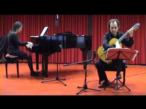 I. Allegretto. Fantasia Op.145 para Guitarra y Piano. M. Castelnuovo-Tedesco