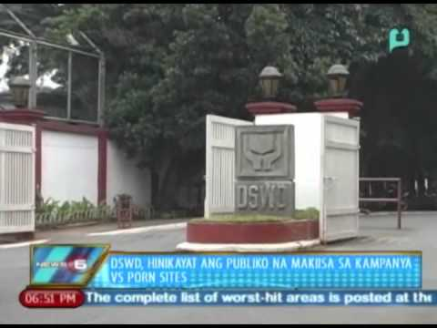 News@6: DSWD, hinikayat ang publiko na makiisa sa kampanya vs. porn sites at child abuse