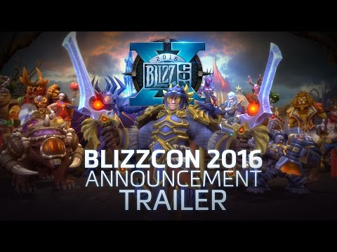 Heroes of the Storm – BlizzCon 2016 Announcement Trailer