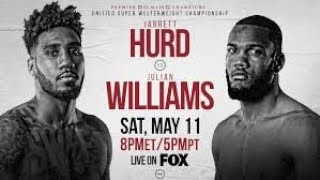 Dwyer 5-13-19 Post Fight - J Rock Williams v. Jarrett Hurd  #andthenew