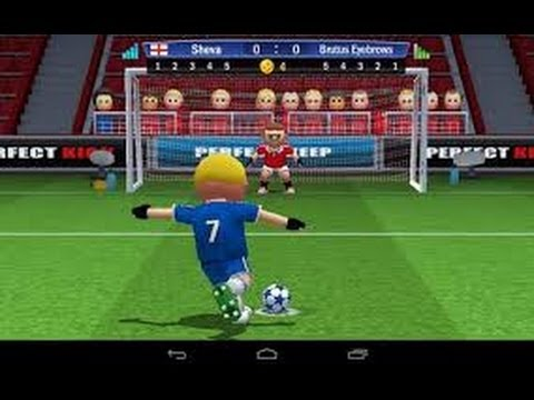TOP FREE APPLE & ANDROID SOCCER GAME PERFECT KICK REVIEW