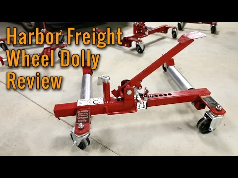 Why Harbor Freight Wheel Dollies Don't Work - Product Review