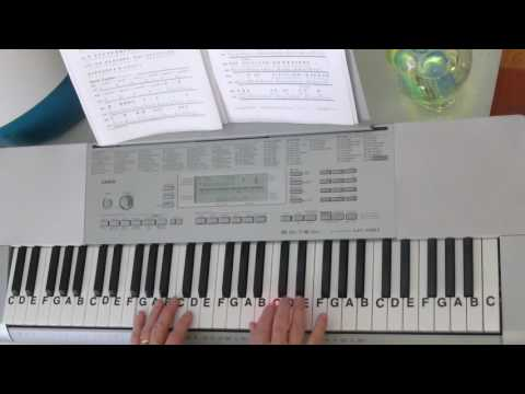 How To Play ~ Somewhere Over The Rainbow ~ IZ style ~ LetterNotePlayer ©