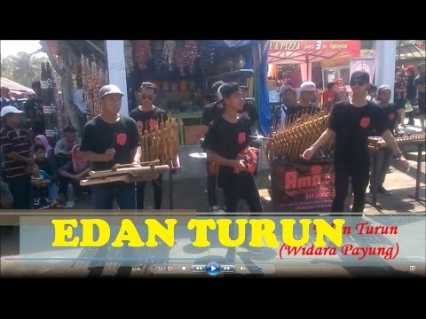 edan turun - AMPAS (Angklung Masyarakat Putra Sumingkir) live in Widara Payung
