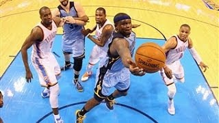AMAZING OT Ending Between the Grizzlies and Thunder
