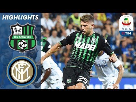 Sassuolo 1-0 Inter Milan | Brutto esordio per l'Inter, che perde per un rigore di Berardi | Serie A