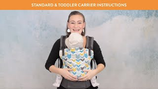 Tula Baby Carrier - Front Carry Instructions