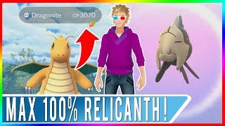 WE GOT RELICANTH! Level 30 100% IV Relicanth! Level 30 100% IV Dragonite! Pokemon GO Ultra Sniping!