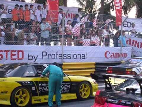 Bangsaen Thailand Speed Festival 2009 - Friday Drifting Display
