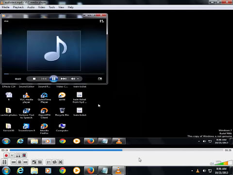 How to record capture screen video with audio using VLC media player