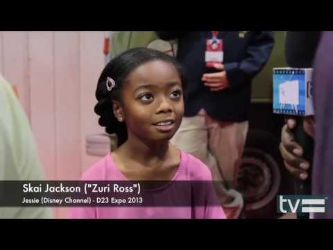 Skai Jackson Interview - Jessie Season 3 (disney Channel) video