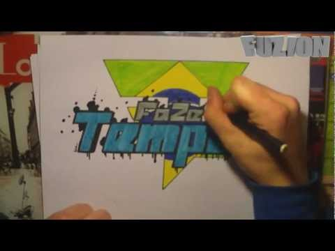 Faze clan faze temper speed graff drawing sick youtube for Housse de racket roman oliver remix