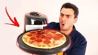 A FAMOSA MÁQUINA QUE GIRA E ESQUENTA PIZZA EM 5 MINUTOS !!!