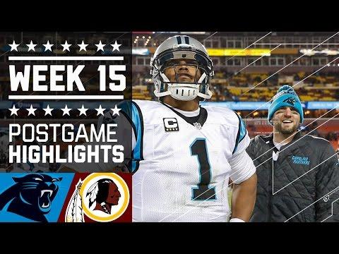 Panthers Vs Redskins Nfl Week 15 Game Highlights