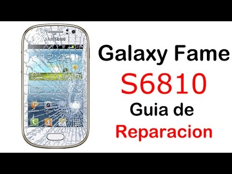 Samsung Galaxy Fame S6810 Desmontar y Montar (disassembly and assembly)