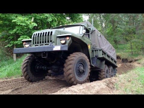 Ютербог фестиваль военной техники 2013 Урал-4320 ЗИЛ-131 БAT-M ННА ГДР Russian military vehicles