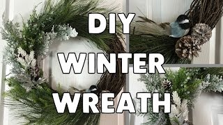 DIY Winter Wreath!