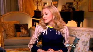 ABC interview 2012 (part 1) : Madonna with Cynthia McFadden