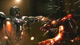 IRON MAN Vs ULTRON - Marvel's AVENGERS 2 - Movie Clip # 4