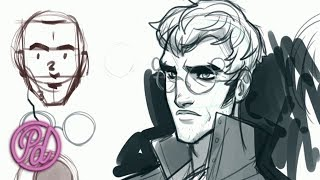 Draw Percy Using the Loomis Method | Pub Draw