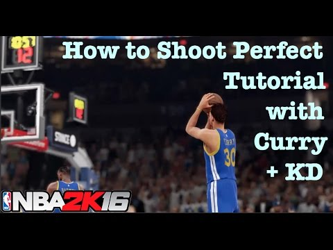 NBA 2K16 Tips How to Shoot Perfect jumpshots. Open Perfect Release 24/7 Tutorial #5