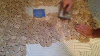 Tile floor diy