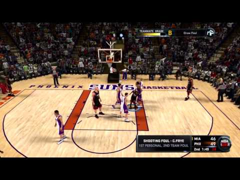 NBA 2K11 My Player - LeBron James Trusts Chris Smoove!