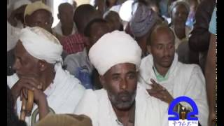 Tigray Regional government president, Abay Weldu discusses with People of Adi-Remets Town