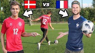 DANMARK VS FRANKRIG! HVEM VINDER?