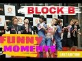 BLOCK B FUNNY MOMENTS - 2016