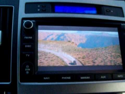 Hyundai Veracruz TV/DVD unlocked