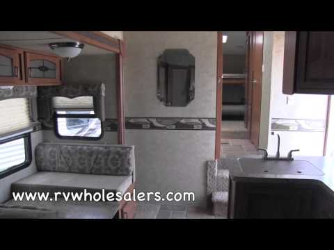 2013 Sabre Silhouette 320FQDS Fifth Wheel Camper at RVWholesalers.com 007321 - Taupe