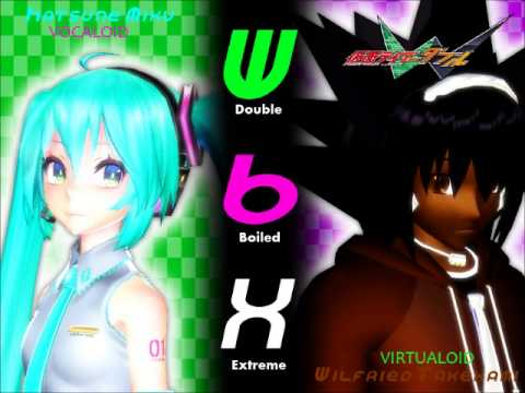 【VOCALOID X VIRTUALOID】 Hatsune Miku Ft Wilfried Takekami   W B X ~W Boiled Extreme~ (Cover)
