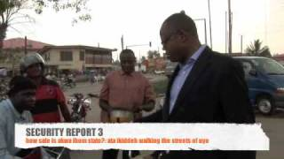 SECURITY REPORT 3: Ata Ikiddeh walking the streets of Uyo: How safe is Akwa Ibom State?