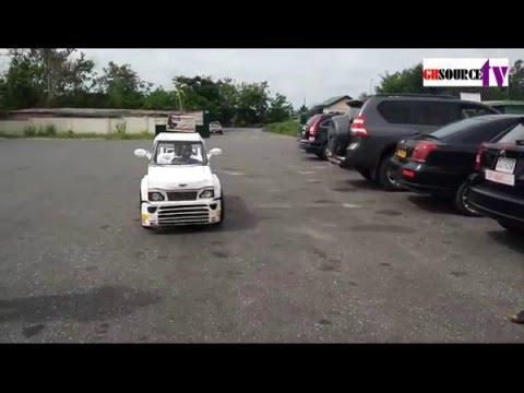 Two Brothers in Koforidua make a car