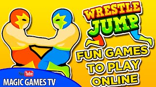 Wrestle Jump (iPad Gameplay Video)