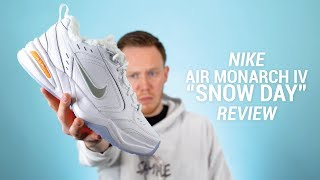 "The $120 Nike Air Monarch IV ""Snow Day"" Review & On Feet"