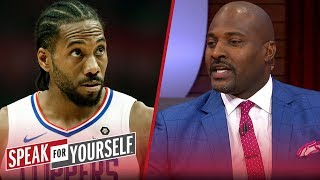 Marcellus Wiley on Kawhi's load management and AD going to Chicago | NBA | SPEAK FOR YOURSELF