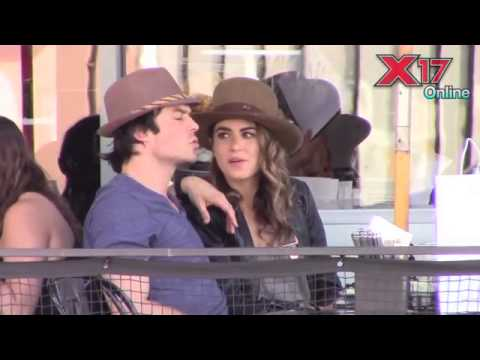 Ian Somerhalder and Nikki Reed in LA (07/09/2014)