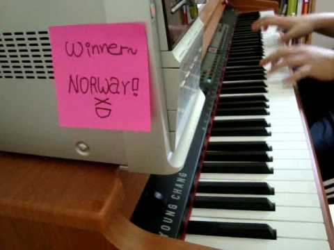 Eurovision Song Contest 2009 WINNER - Norway, Fairytale [Alexander Rybak] by me