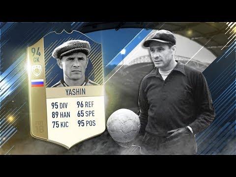 FIFA 18 Prime Icon Yashin Review - 94 Icon Lev Yashin Player Review - Fifa 18 Gameplay
