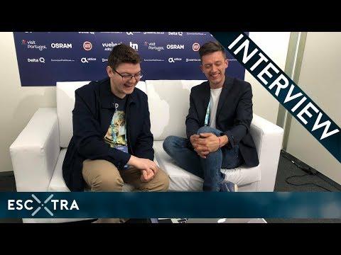 LIVE INTERVIEW: Vanja Radovanović (Montenegro 2018) // ESCXTRA.com