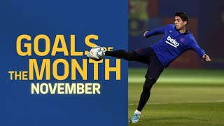 GOALS OF THE MONTH | November's training sessions