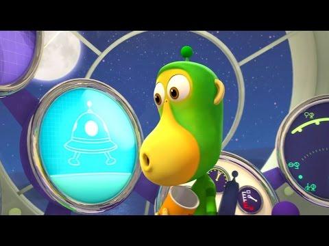 Обезьянки из космоса - Незваный гость (43 серия) | Смешной мультик