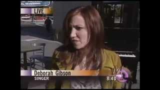 Ryan Seacrest interviews Debbie Gibson on KTVU