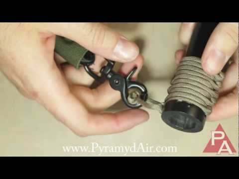 How to Make a 550 Paracord Sling Attachment for AR15 (M4) Rifle (HD)