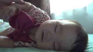寝起きのいい赤ちゃん