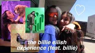 meeting billie eilish at The Billie Eilish Experience | 3.31.19